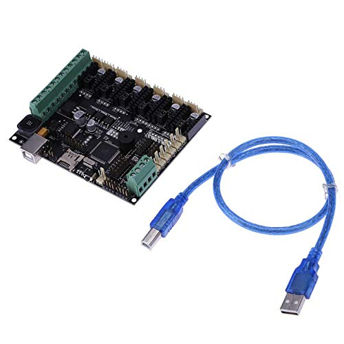 Zamtac 3D Printer Motherboard Megatronics V3 Control Board with Welding AD597 Chip USB 2.0 Full Speed Compatible by GIMAX (Image #6)