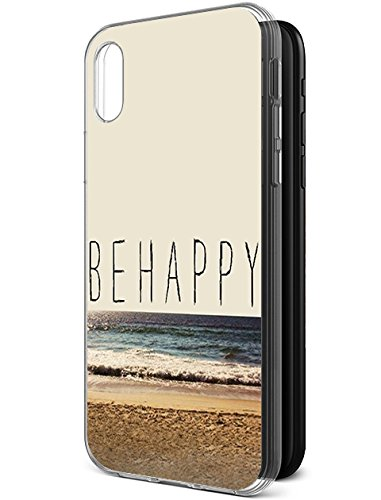 Protection Hard Cases Cover for Apple iPhone Xs (2018) / Apple iPhone X (2017) Beautiful Beach Scene