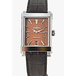 Eterna 1935 Eterna-Matic Grande Men's Brown Leather Strap Swiss Automatic Watch 8492.41.21.1162D