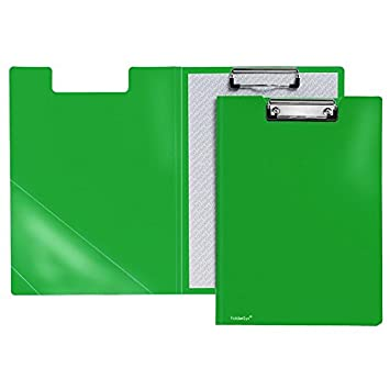 DIN A4 grün Klemmbrettmappe Farbe Dokumentenmappe mit Klemmbrett
