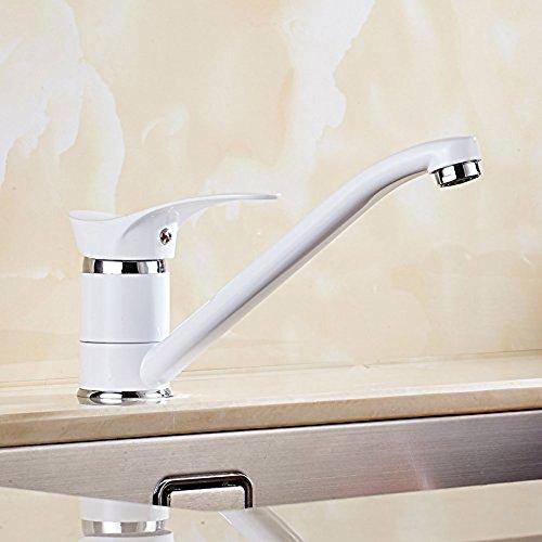 kk- Küchenarmatur Wasserhahn Messing Armatur Mit Schlauch Für Küche ...