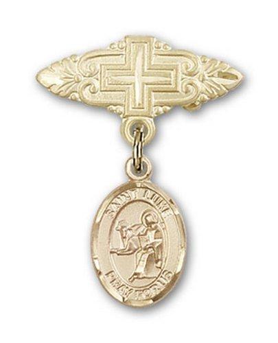 Icecarats Or Bijoux De Créateurs Rempli R. Luke La Broche De Badge Charme Apôtre Croix 1 X 3/4