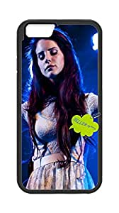 Plastic Fashion Phone Case Back Cover Iphone6 Plus 5.5,phone case for Lana Del Rey .