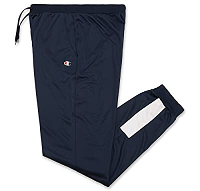 Champion Men's Big and Tall Athletic Exercise Track Pants With Pockets