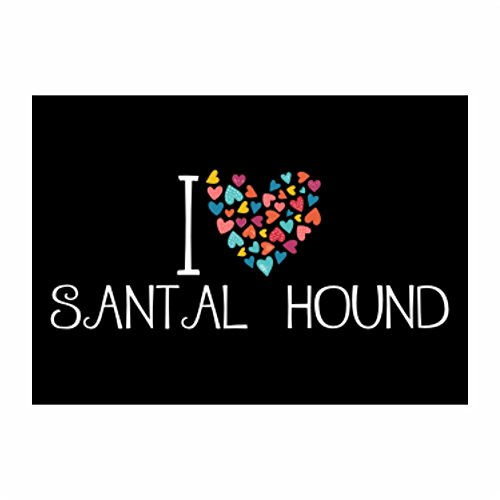 teeburon-i-love-santal-hound-colorful-hearts-pack-of-4-stickers