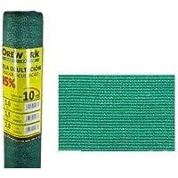 Malla ocultacion verde 95% 2x10 mt