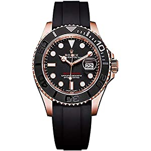 Best Epic Trends 41ZsZhaBNOL._SS300_ Men's Rolex Yacht-Master 40 Solid 18k Rose Gold Watch (Reference: 116655)