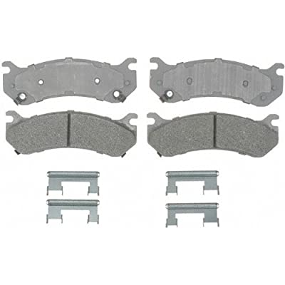 ACDelco 14D785MH Advantage Front Disc Brake Pad Set with Hardware: Automotive