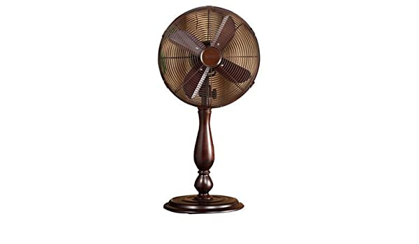Amazon.com: Sutter 12 Oscillating Table Fan by Deco Breeze by Deco Breeze: Home & Kitchen
