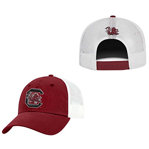 Top of the World South Carolina Gamecocks Adult NCAA Team Spirit Relaxed Fit Meshback Hat - Team Color, (Hat Carolina Gamecocks South)