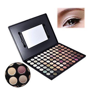 QINF Pro 88 Warm Color Fashion Eye Shadow Palette Profession