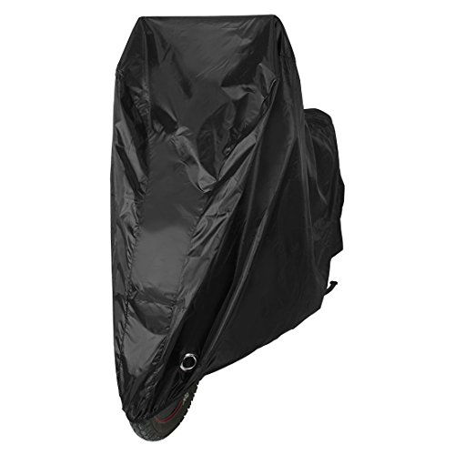 uxcell Bike Cover Outdoor Water Resistant 190T Coated Oxford