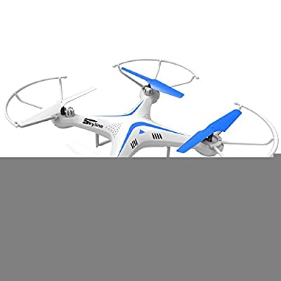 ComfyZone RC QuadCopter Aircraft 2.4G 4 Channel 6 Axis Gyroscope