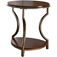 Steve Silver Company Maryland End Table, 22 x 22 x 25