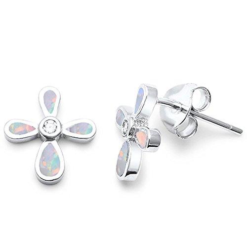 Opal Solid Cross - 5