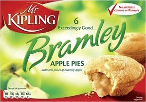 Price comparison product image Mr Kipling Cakes - Bramley Apple Pies - 6pk