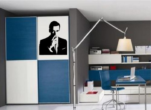 Don Draper Mad Men Silhouette vinyl wall art - Don Look Draper