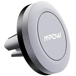 garantie vie support t l phone voiture mpow grip magic air vent support voiture magn tique. Black Bedroom Furniture Sets. Home Design Ideas
