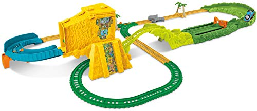(Fisher-Price Thomas & Friends TrackMaster, Turbo Jungle Set)