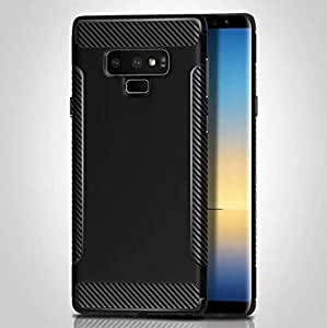 Samsung Note 9 carbon fiber brushed case