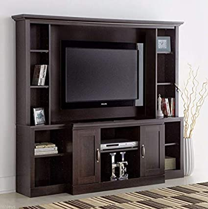 Amazon.com: Wooden Home Classic Large TV Stand Home ...