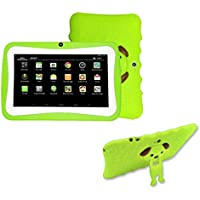 [Kids Edition Tablet] 7 Inches Tablet PC, [HD Touchscreen Mic WIFI ]--Android 4.4 Octa Core Quad Core [Dual Camera Phone] Wifi Phablet Tablet ,Support Games,Skype,MSN,Facebook, Twitter, etc (Green)