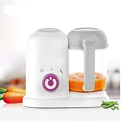 Home Shoppy 4 In 1 Homemade Baby Food Cooker Infant Feeding Blender Puree Processor With Steaming Blending Heating And Defrosting Functions Organic