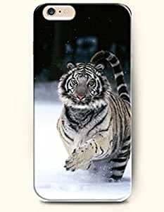 OOFIT iPhone 6 Case ( 4.7 Inches ) - Tiger in Snowfield