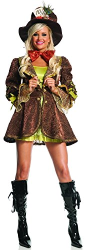 (Mystery House Crazy Mad Hatter Adult Costume As Shown - Crazy Mad Hatter Adult Costume)