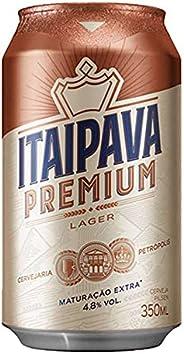 Cerveja Itaipava Premium, Puro Malte, Lata, 350ml 1un