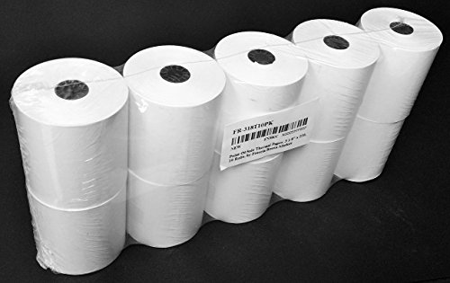 Freccia Rossa Market, Point of Sale Thermal Paper, 3 1/8' X 230', 10 Rolls