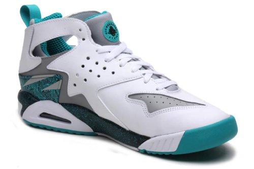 nbsp;scarpe Grey Hrche Top Mens Da Turbo 630957 6 Ginnastica Wolf Uk white 40 7 Green Tech Nike 101 Huarache Trainers Us Challenge Black Hi Air Eu ATvwtZ