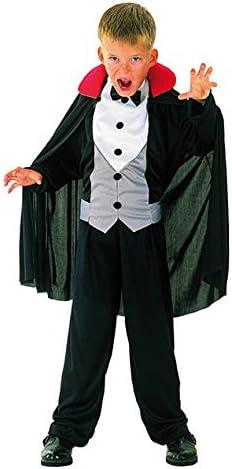 EL CARNAVAL Disfraz Conde Dracula Talla de 8 a 10 años: Amazon.es ...