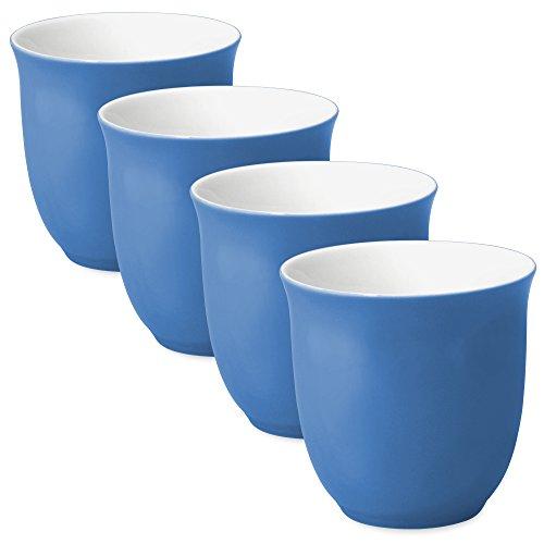 FORLIFE Japanese Teacup (Set of 4), 6.5 oz., (Blue Teacup)