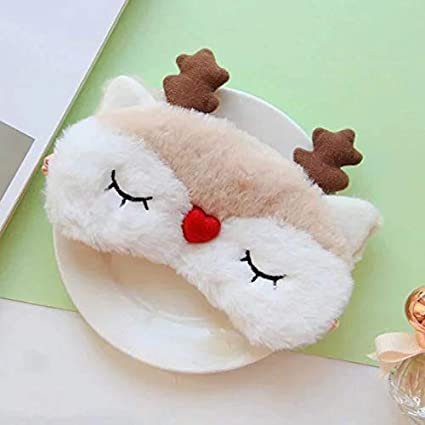 NEW cute and adoratble furry fluffy eye mask