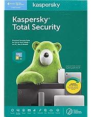 KASPERSKY أمان كلي 2020 1 جهاز كمبيوتر واحد مضاد للفيروسات سنة - مفتاح جلوبال