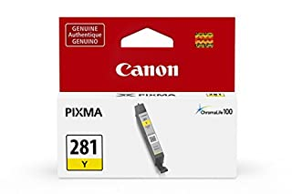 Canon Genuine Ink Cartridge CLI-281 Yellow Ink - 2090C001 (B074TR9YWM) | Amazon Products