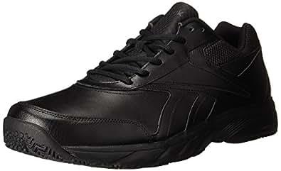 Reebok Men's Work N Cushion 2.0 Walking Shoe, Black/Black, 6.5 M US