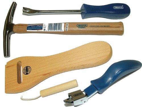 Polsterwerkzeug, Nagelheber + Polsterhammer, 200 � Gurtspanner