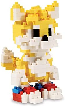 Amazon Com Sonic Tails Pixel Bricks Toys Games
