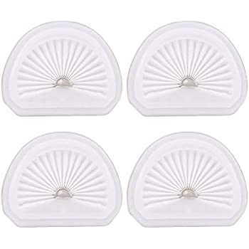 4Pack for VLPF10 Replacement Filter Compatible with Black and Decker Dustbuster Hand Vacuum Filter Model # HLVA320J00 HLVA315j & N575266
