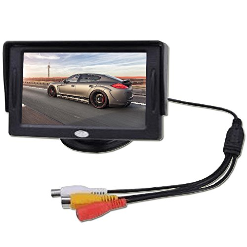 GenLed 4.3 Inch LCD TFT Rearview Monitor screen for Car Backup Camera