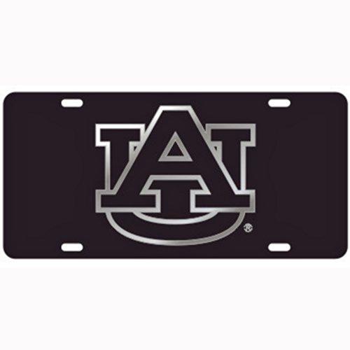 Auburn Tigers Black Laser Cut License Plate