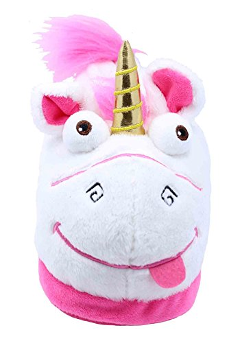 Girl's Despicable Me 3 Minions Unicorn Slippers (2-3 M US Toddler)