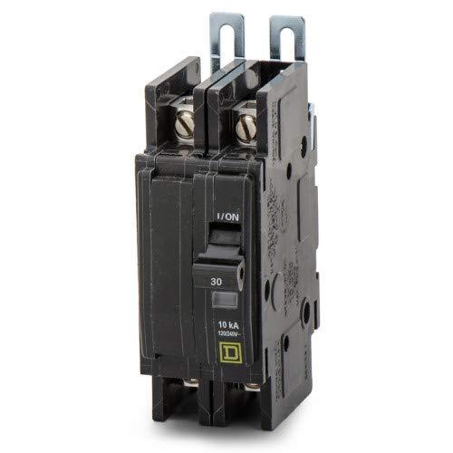 Unit Mount Circuit Breaker, Qou, 2 P, 30A by Square D