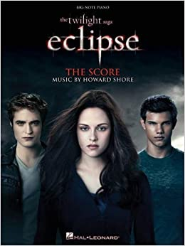 Book The Twilight Saga - Eclipse: Music from the Motion Picture Score (Big-Note Piano) (2010-08-01)