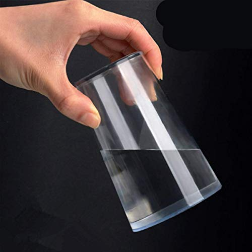 WSNMING 1 Pcs Magic Trick Cup Props Water Upside Down Will Not Flow Out Spoof Toy Halloween Party Close-up Performance with Video Tutorial