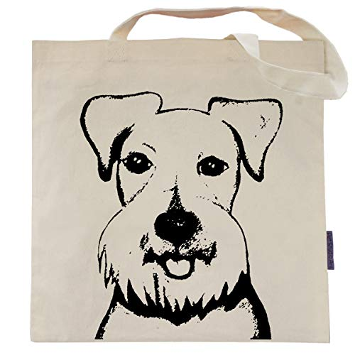 Baby the Schnauzer Tote Bag by Pet Studio Art