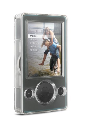 DLO Hard Shell Case for Zune 30 GB (Clear)