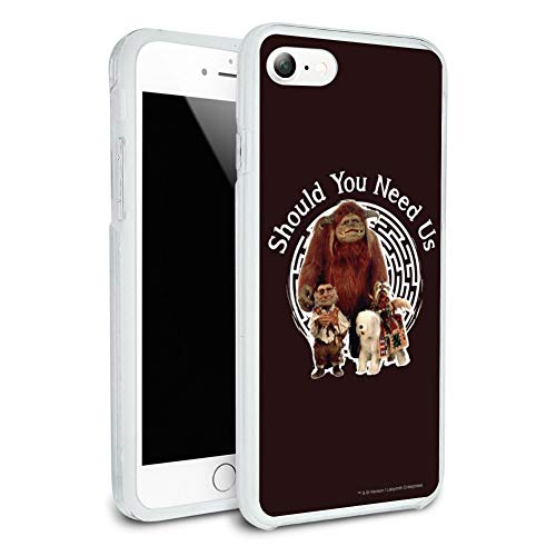Should You Need Us Labyrinth Ludo Hoggle Didymus Protective Slim Fit Hybrid Rubber Bumper Case Fits Apple iPhone 8